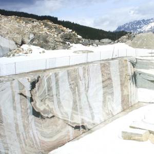 Bruchwand Sölker Marmor (Bildquelle Sölker Marmor)